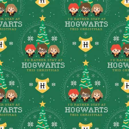 Harry Potter - Hogwarts Holiday - 1/2m cut 57923