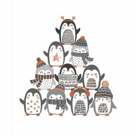 Penguin Paradise Panel 57935