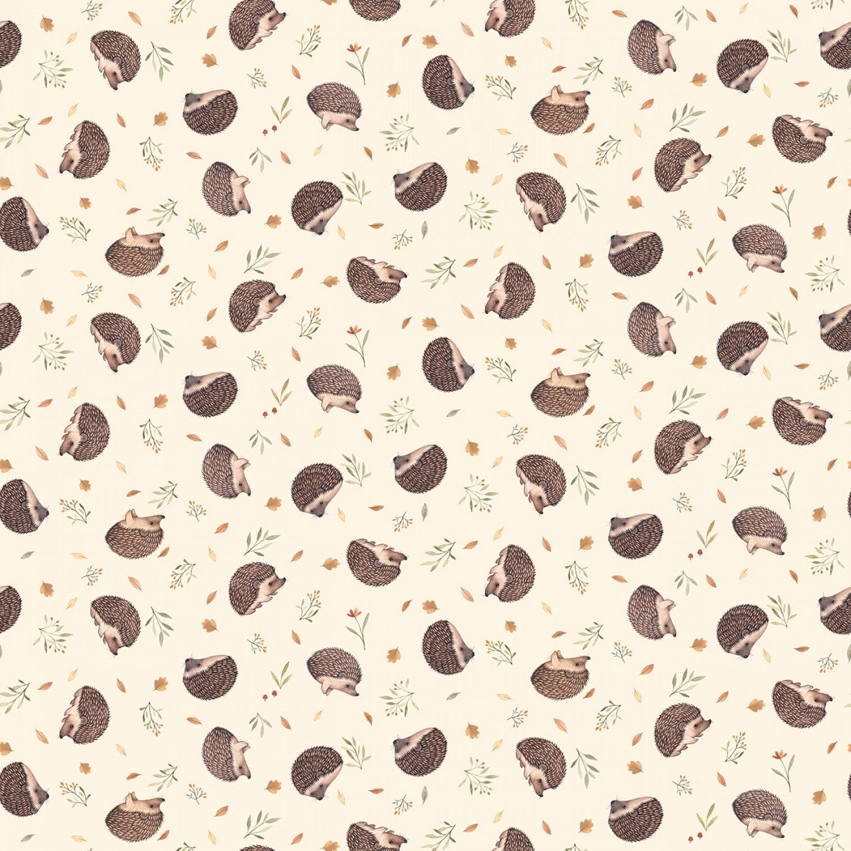 Cream Hedgehogs - 1/2m cut 57952