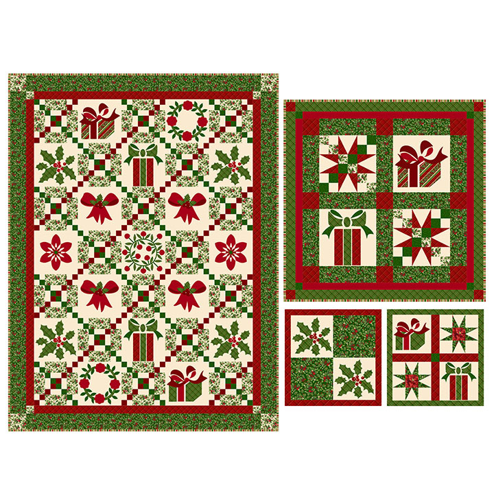 Holiday Traditions Quilt Pattern 57973