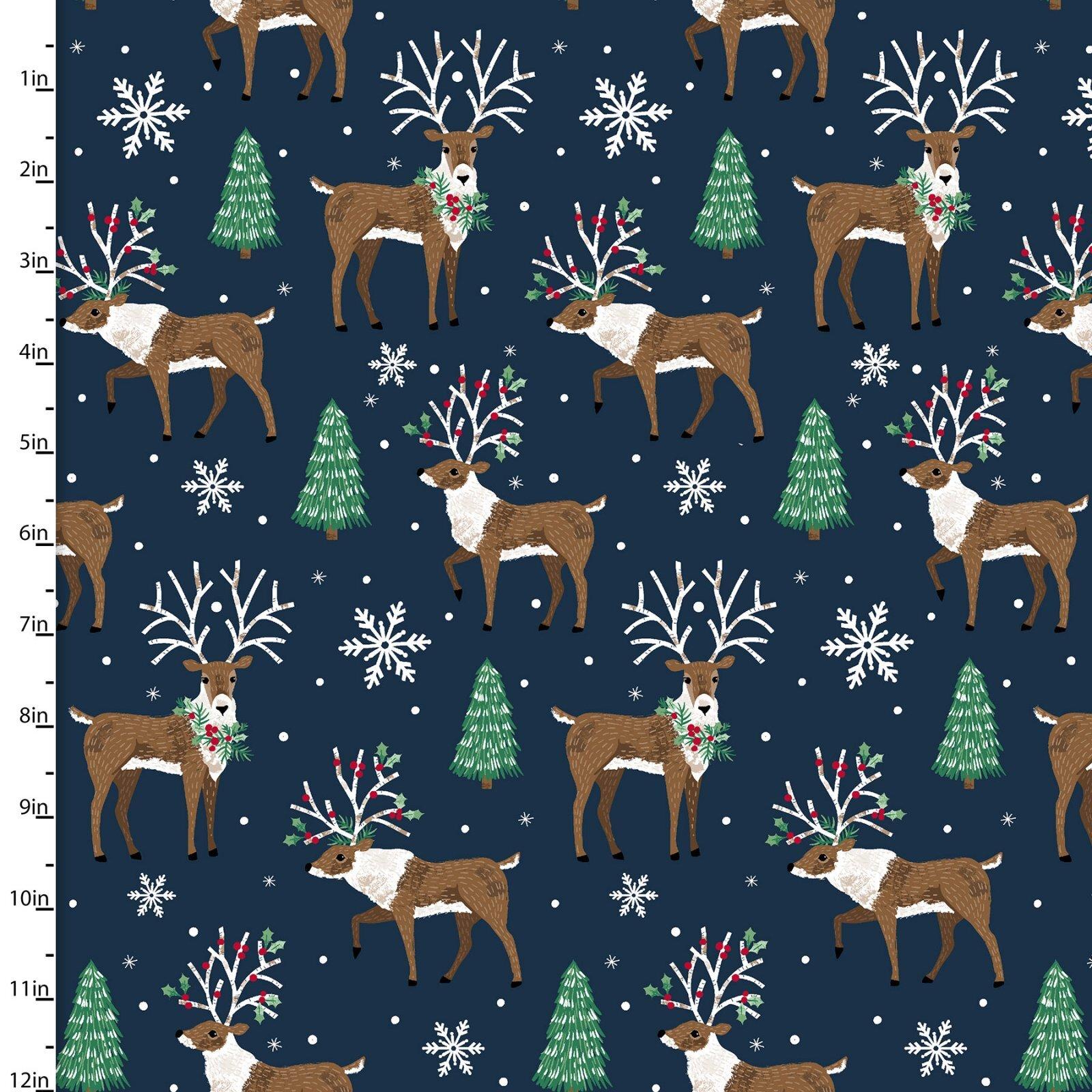 Believe - Reindeer - 1/2m cut 58006
