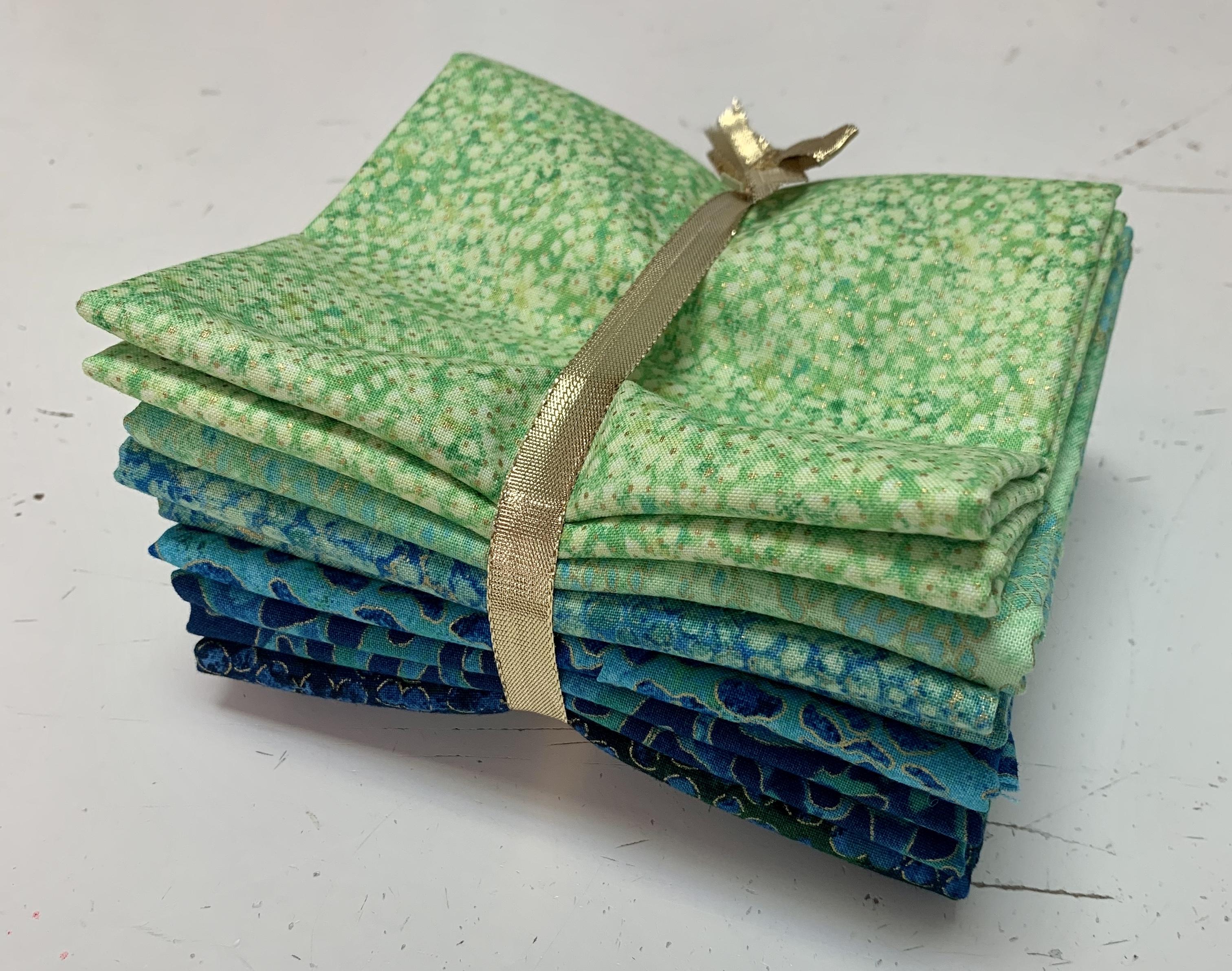 Sierra Snow Quilt Kit - Blue/Green 58014