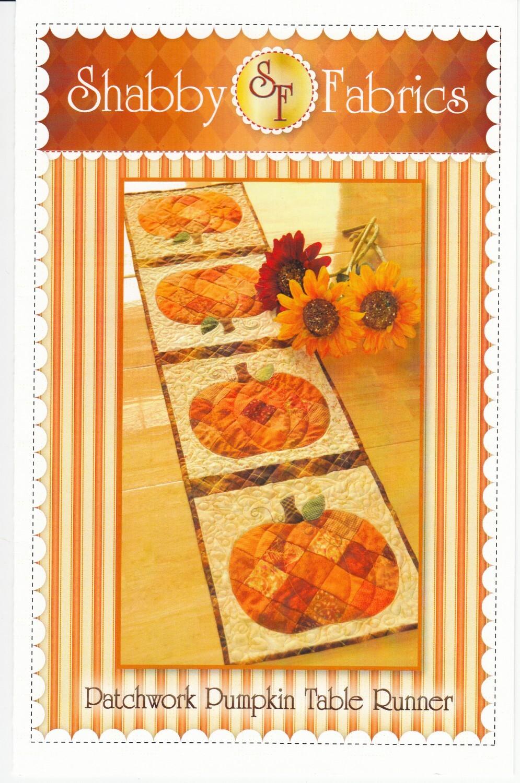 Pumpkin Table Runner Pattern 58009