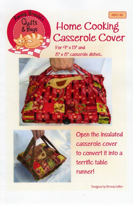 Casserole Cover Pattern 58007