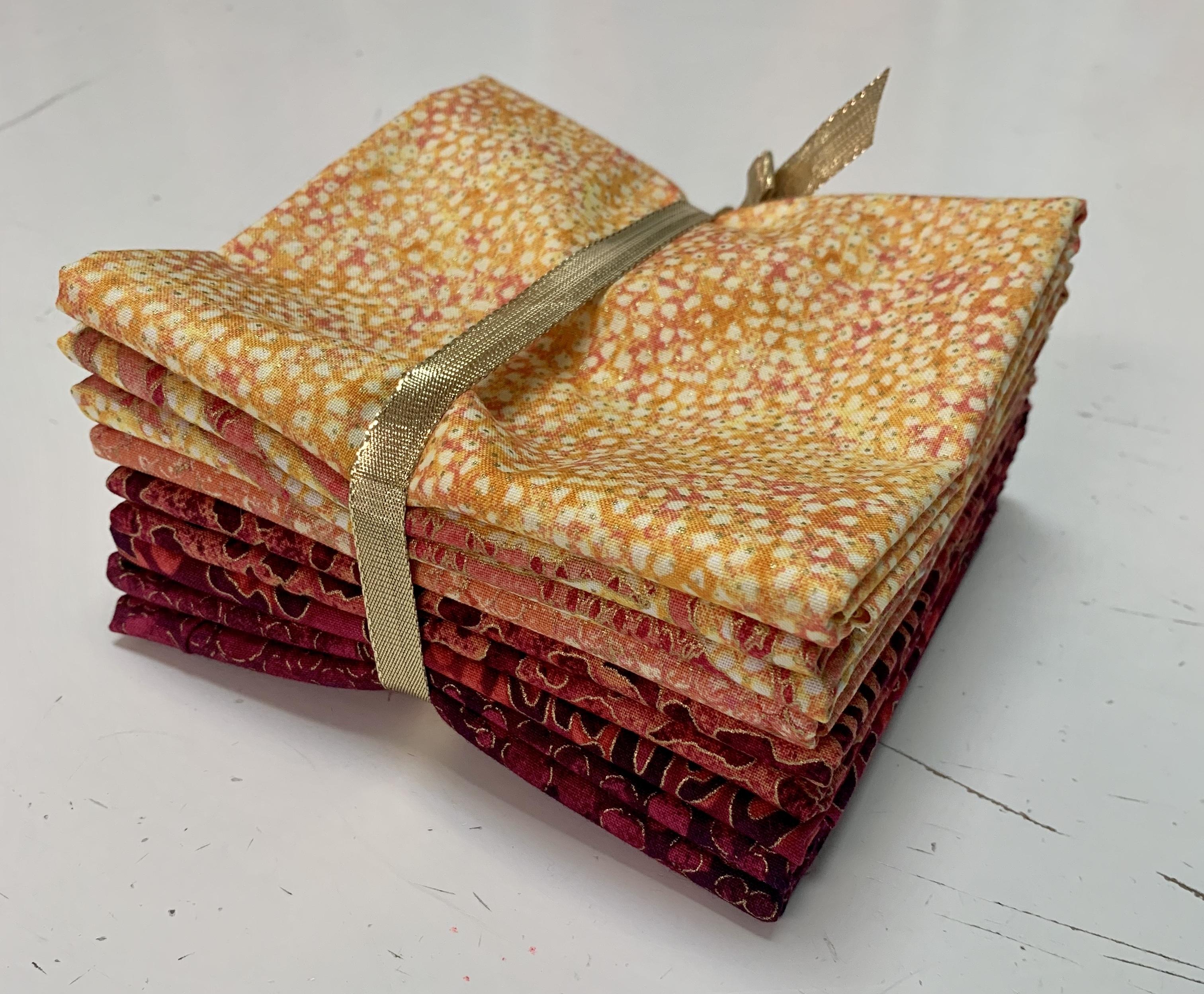 Sierra Snow Quilt Kit - Yellow/Orange 58016