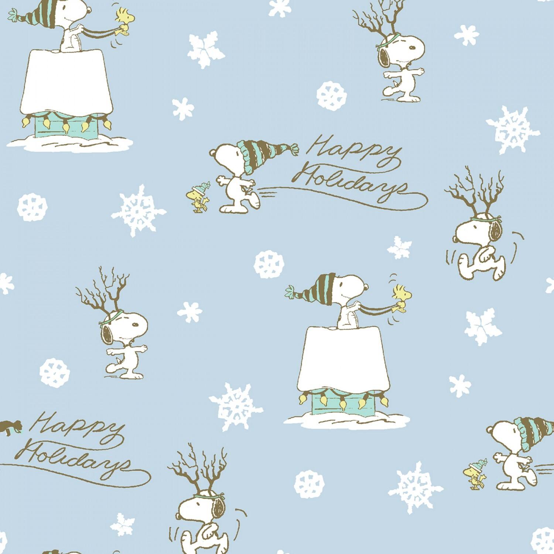 Peanuts Christmas - Happy Holidays - 1/2m cut 58032