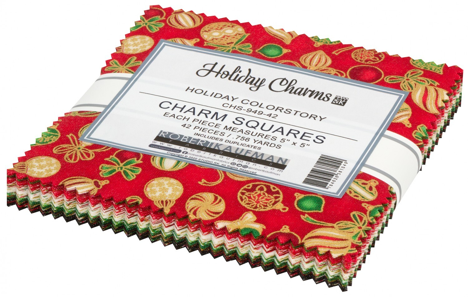 Holiday Charms Charm Pack 58047