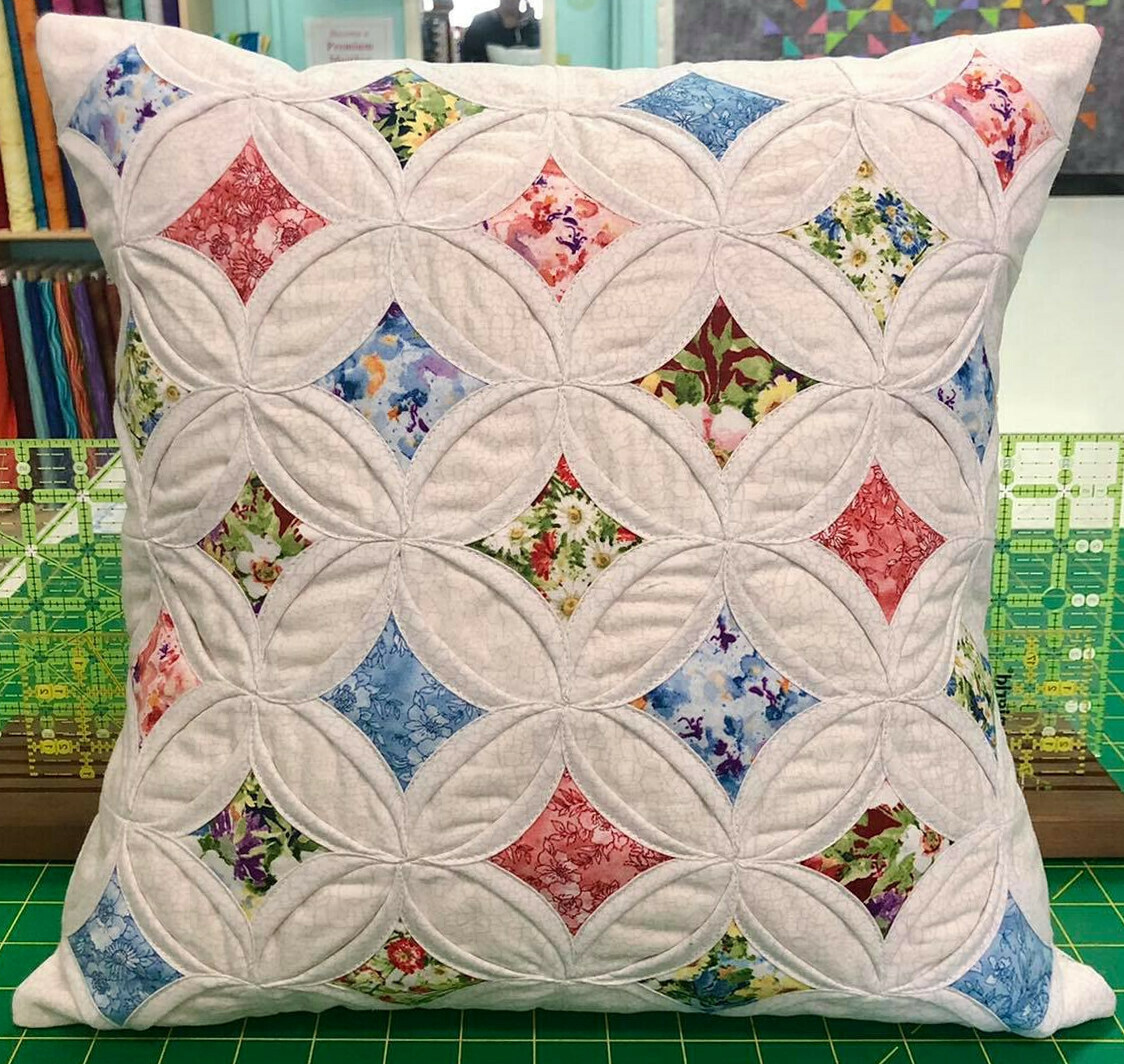 Cathedral Window Pillow Class #2 - Fall 2021 57902