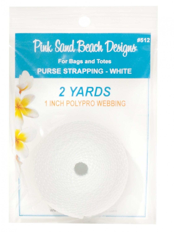 White Webbing - 2 yards 58078