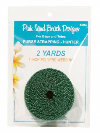 Green Webbing - 2 yards 58076