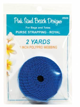 Blue Webbing - 2 yards 58077