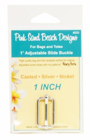 Slide Buckle - Silver 58082