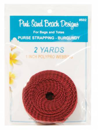 Red Webbing - 2 yards 58074