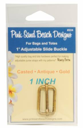 Slide Buckle - Antique Gold 58080