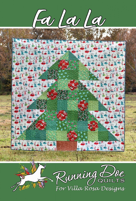 Fa La La Quilt Pattern 58089