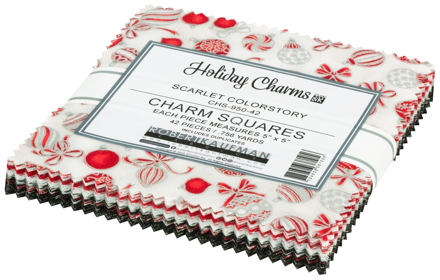 Holiday Charms Charm Pack - Silver 58123