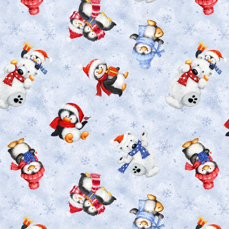 Snow What Fun - Animals - 1/2m cut 58131