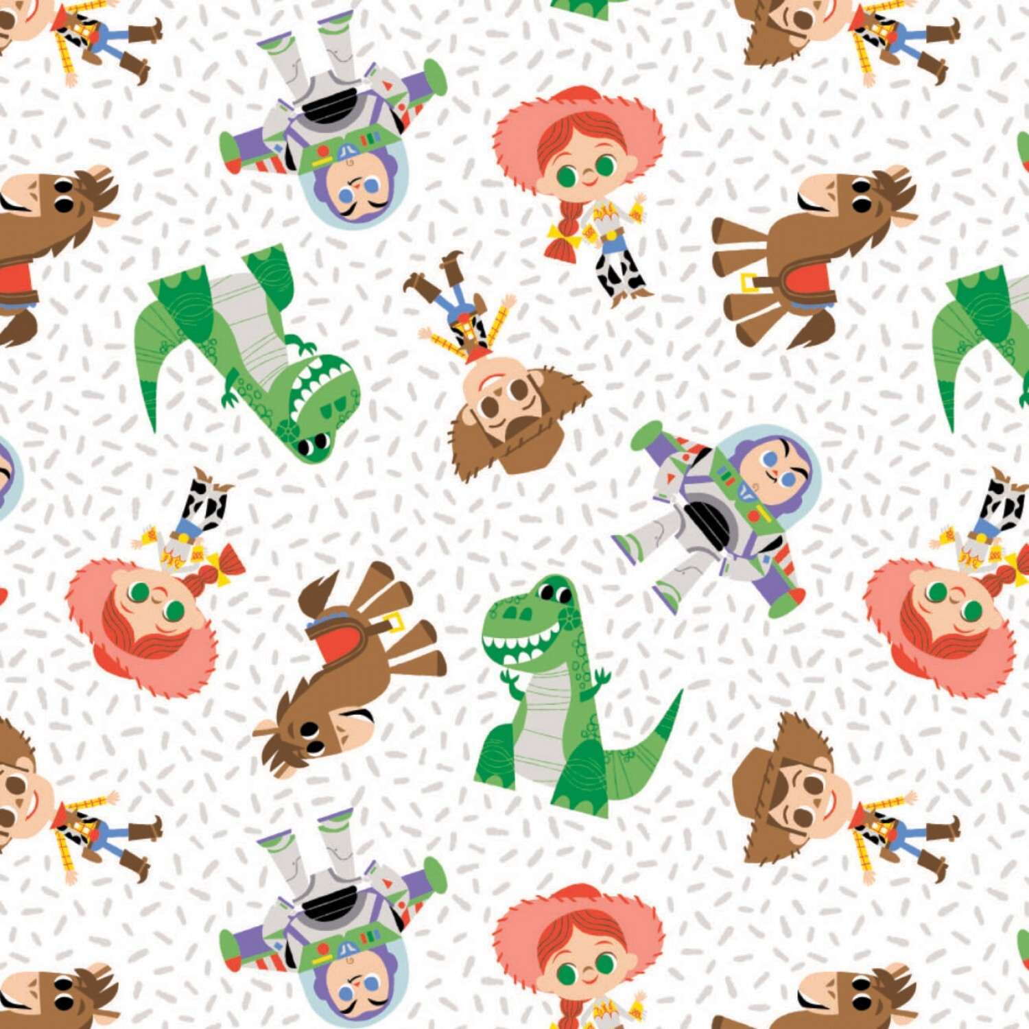 Toy Story - Characters - 1/2m cut 58140