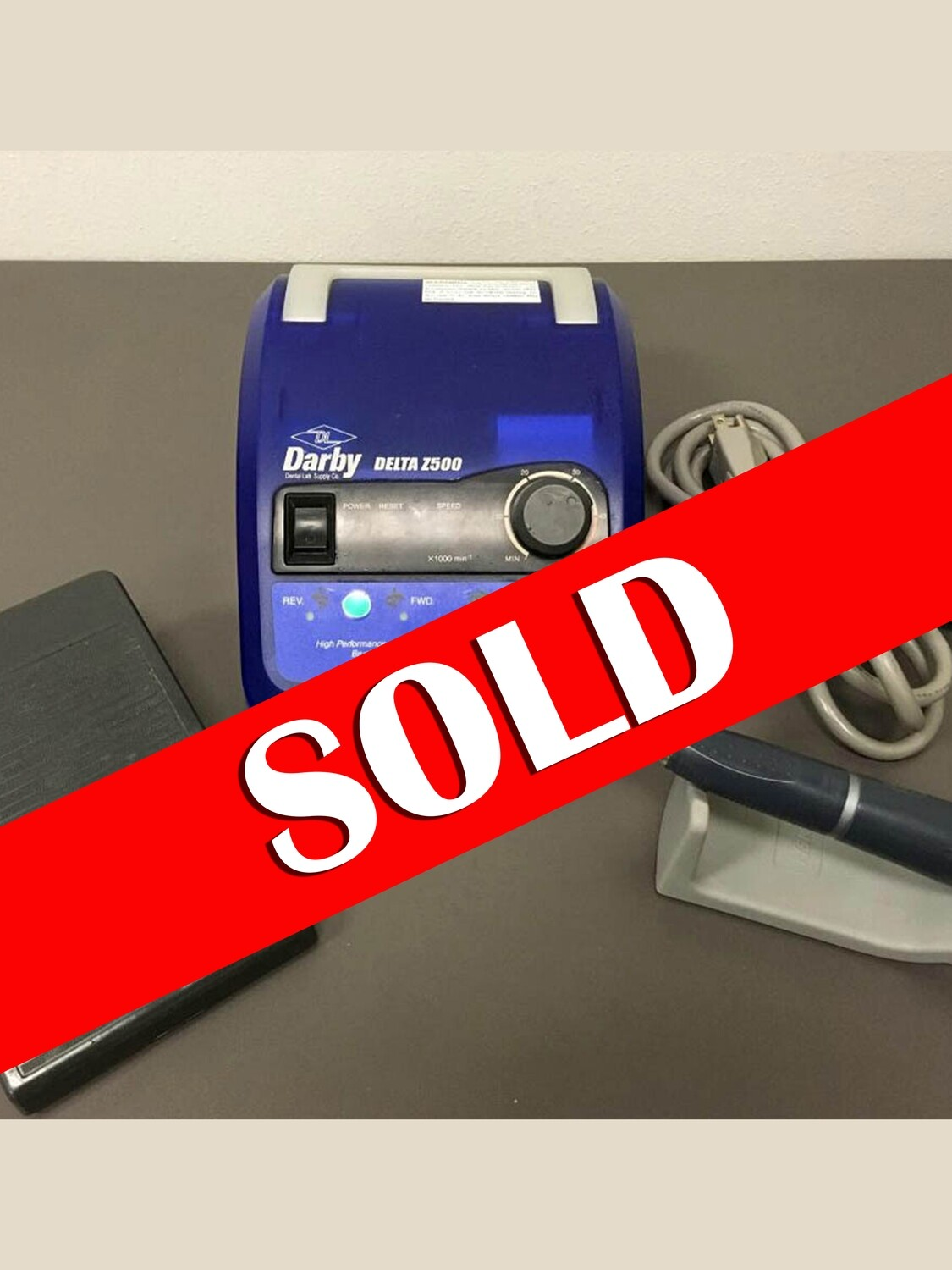 ** SOLD ** NSK (Darby) Ultimate Z500 Electric Lab Handpiece System