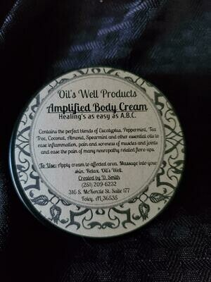 Infused Amplified Body Cream