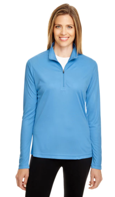WOMENS SPORT QUARTER ZIP