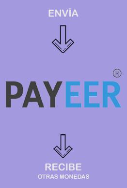 Cambiar Payeer