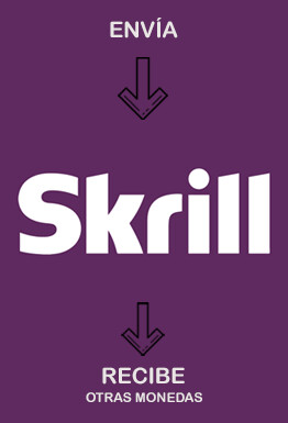 Cambiar Skrill