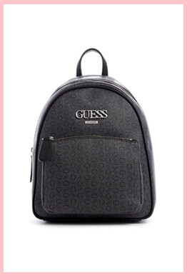 Guess Factory Muze logo Backpack Black
