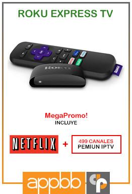 Roku Express HD (Netflix Gratis!) - Bs. 14.300.000