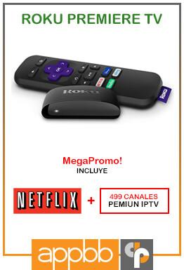Roku Premiere HD/4K/HDR (Netflix Gratis!) - Bs. 16.640.000