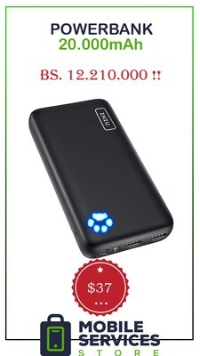 PowerBank 20.000mAh - Bs. 12.210.000