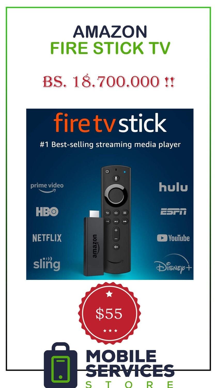 Fire Stick TV (Netflix Gratis!) - Bs. 18.700.000