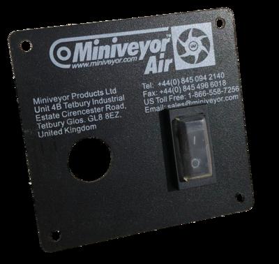 Switch Plate Kit c/w Rocker Switch