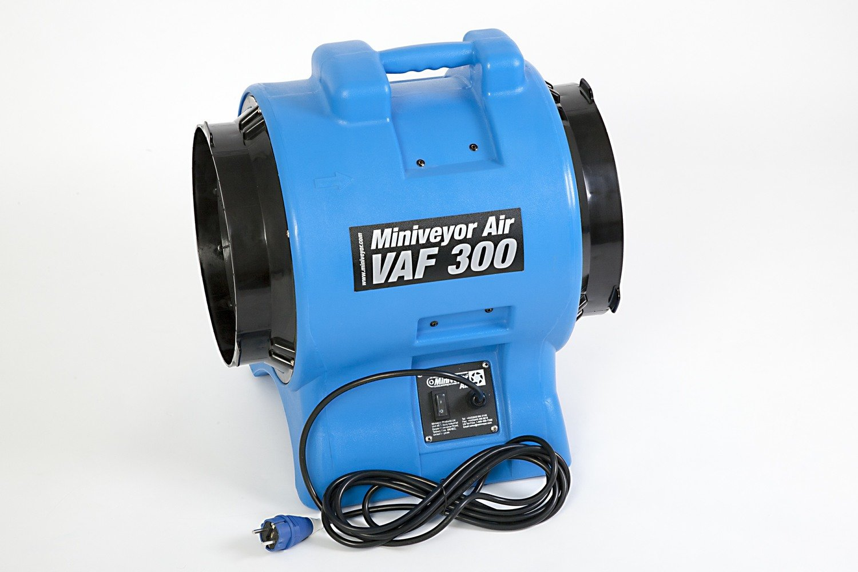 "Miniveyor Air VAF-300 230V 16A 12"" Portable Fume Extractor - 3400 m³/hour (2000 CFM)"