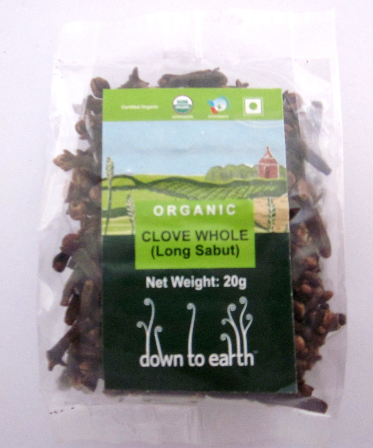 Down To Earth Clove Whole - 20g