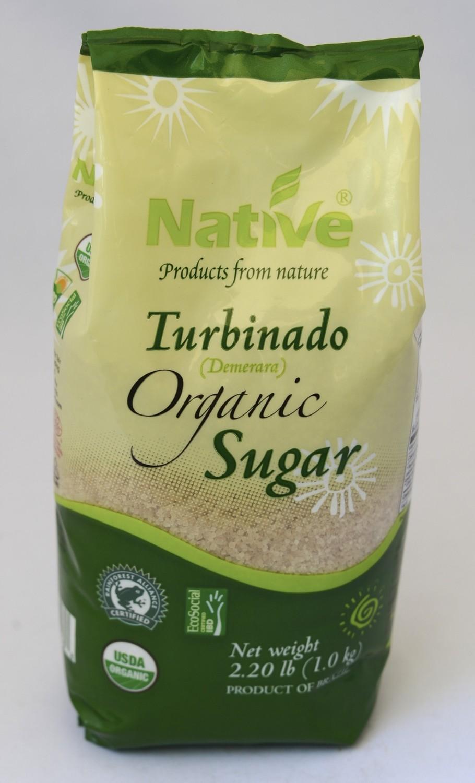 NATIVE--Demerrara Sugar - 1000gm