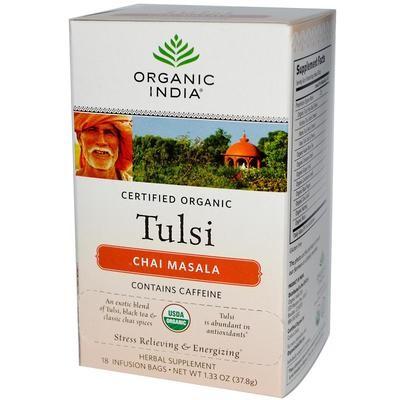 Organic India Tulsi Masala Chai - 18 Bags
