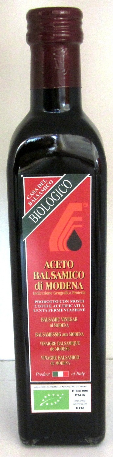 Casa Del Balsamico Balsamic Vinegar of Modena - 500ml