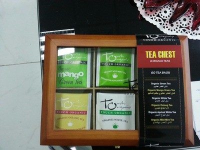 Touch Organic Tea Chest - 60 Tea Bags