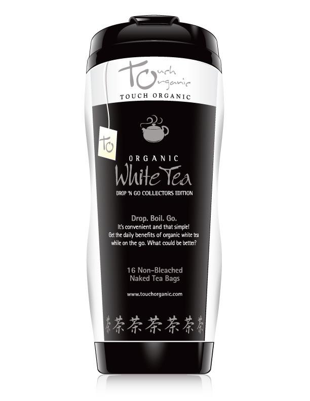 Touch Organic Very Berry White Tea Tumbler- 16 Tea Bags inside