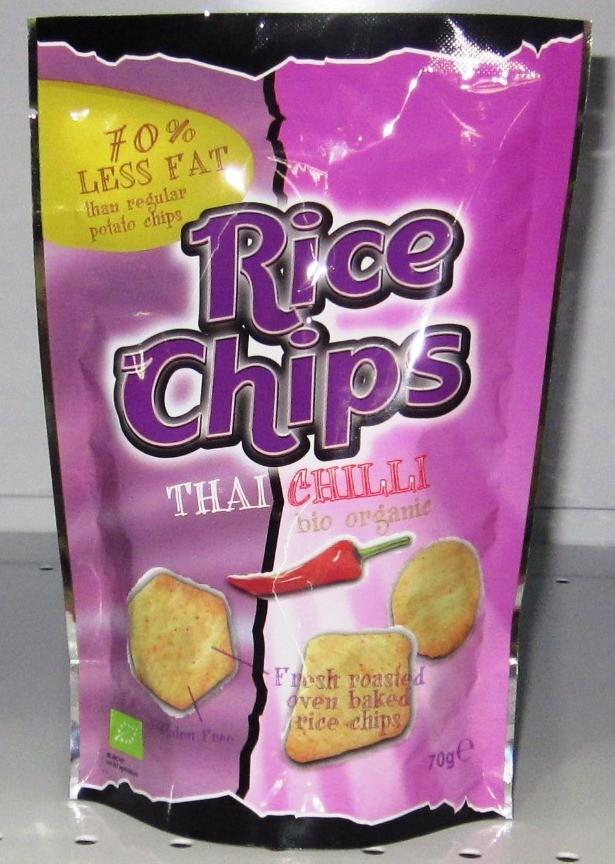 Trato Rice Chips Thai Chilli- 70g