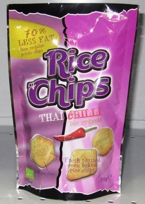Trato Rice Chips Thai Chilli- 70g