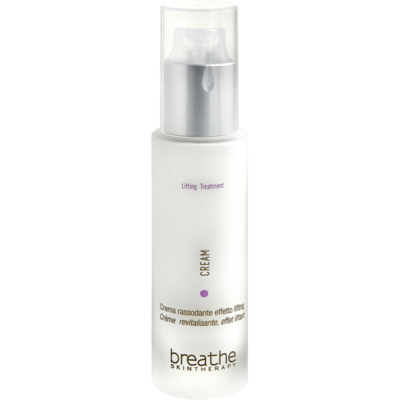 Toning and lifting effect cream