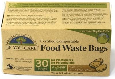 Food Waste Bags - 30 nos