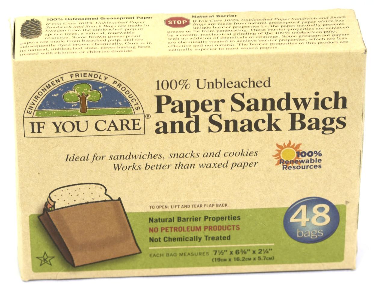 Unbleached Sandwich Bags - 48nos