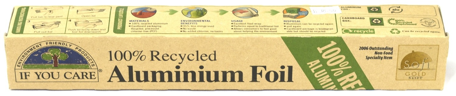 Recycled Aluminum Foil - 10M