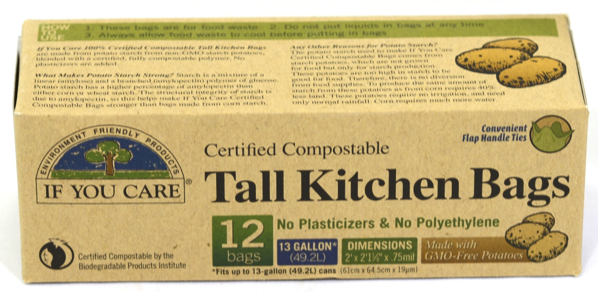 Tall Kitchen Bags - 12 nos