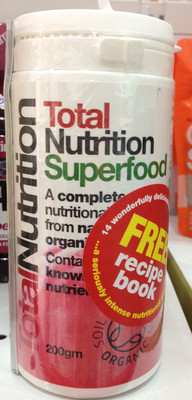 TOTAL NUTRITION SUPERFOOD