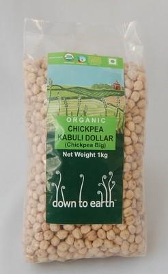 DOWN TO EARTH-Chickpea Kabuli Dollar- 1000gm