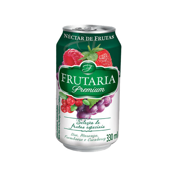 FRUITARIA NECTAR ACEROLA, CASHEW, CAJA AND SOURSOUP 330ML
